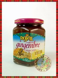 CONFITURE ROYAL GINGEMBRE
