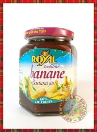 CONFITURE ROYAL BANANE