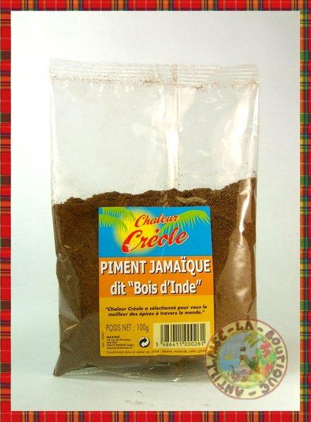 BOIS DINDE (PIMENT JAMAIQUE) CHALEUR CREOLE 100g  LA  ~ Bois D Inde Epice