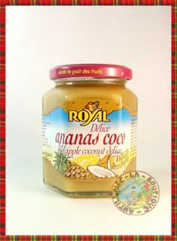 CONFITURE ROYAL DELICE ANANAS COCO