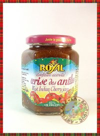 CONFITURE ROYAL CERISE DES ANTILLES