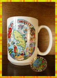 MUG CARTE MARTINIQUE