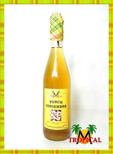 PUNCH GINGEMBRE MTROPICAL 50CL 24%