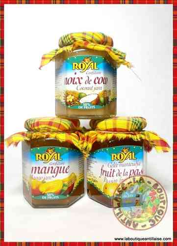 LOT MADRAS CONFITURES ROYAL nmf