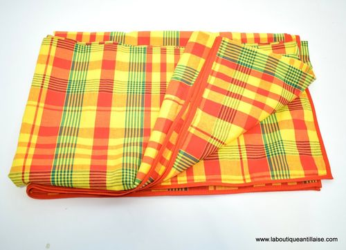 NAPPE MADRAS CARRE