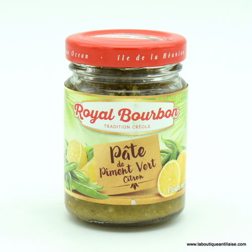 PATE DE PIMENT CITRON ROYAL BOURBON