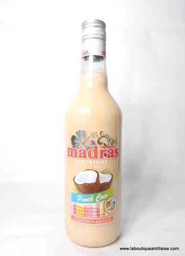 PUNCH AU COCO MADRAS 70CL 18%