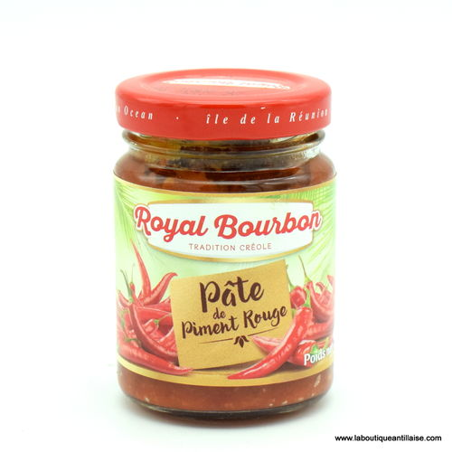 PATE DE PIMENT ROUGE ROYAL BOURBON