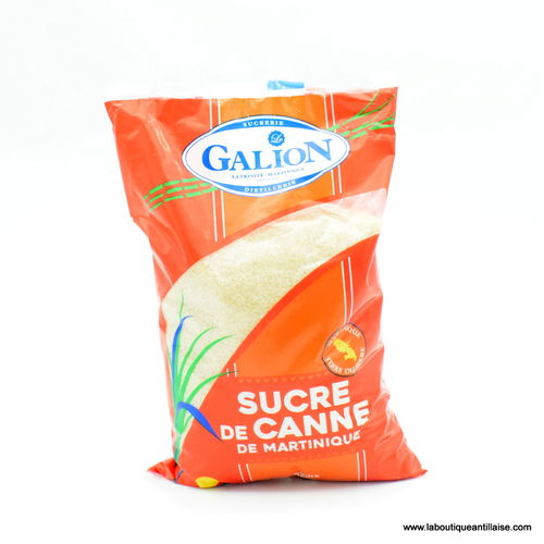 SUCRE DE CANNE GALION MARTINIQUE 1KG