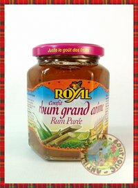 CONFITURE ROYAL RHUM GRAND AROME