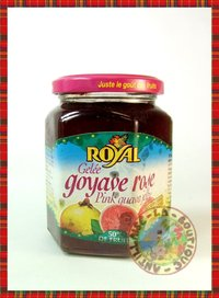 CONFITURE ROYAL GELEE GOYAVE ROSE