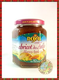 CONFITURE ROYAL ABRICOT DES ANTILLES